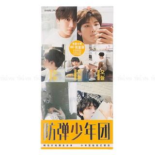 Bộ Postcard Ban Nhạc BTS Mới