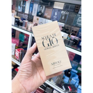 Nước Hoa Nam FREESHIP Nước Hoa Nam Giorgio Armani Acqua Di Gio Absolu Eau De Parfum thumbnail