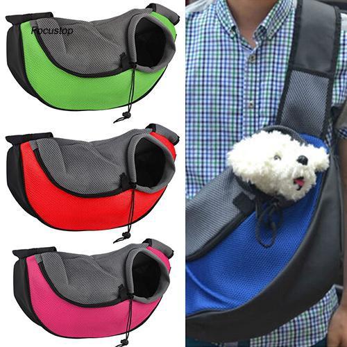 FCSP♣Pet Dog Cat Puppy Zipper Travel Tote Shoulder Bag Sling Backpack Pet Carrier