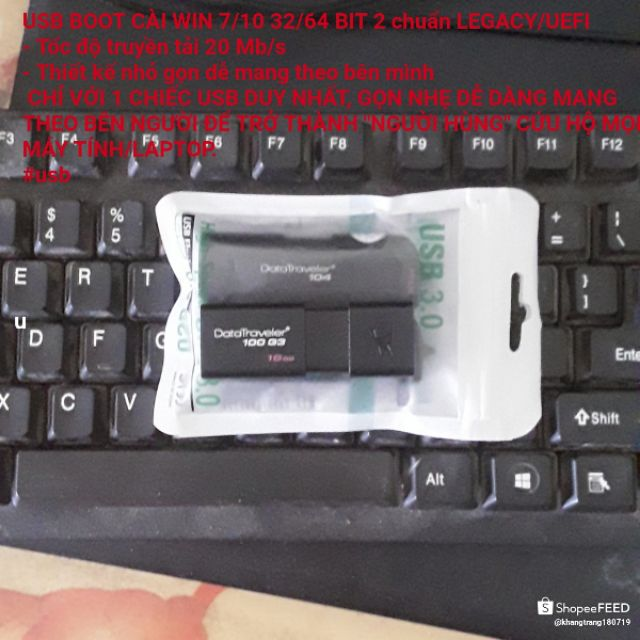 Usb boot đa năng cần thiết cho mọi người khi sử dụng máy tính
