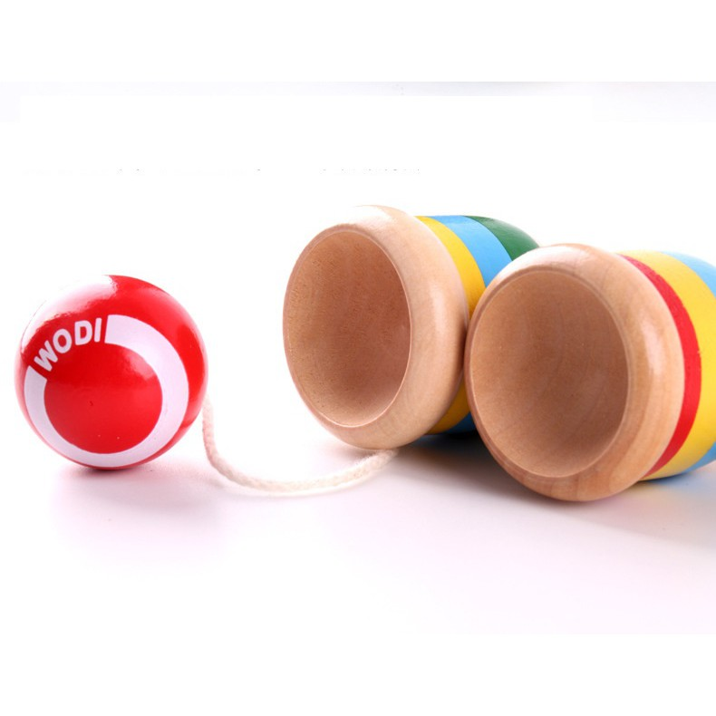Đồ chơi gỗ kendama loại nhỏ cho bé