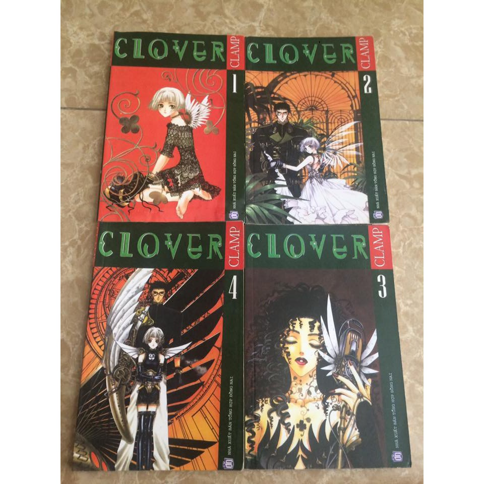 Truyện tranh Clover - Clamp