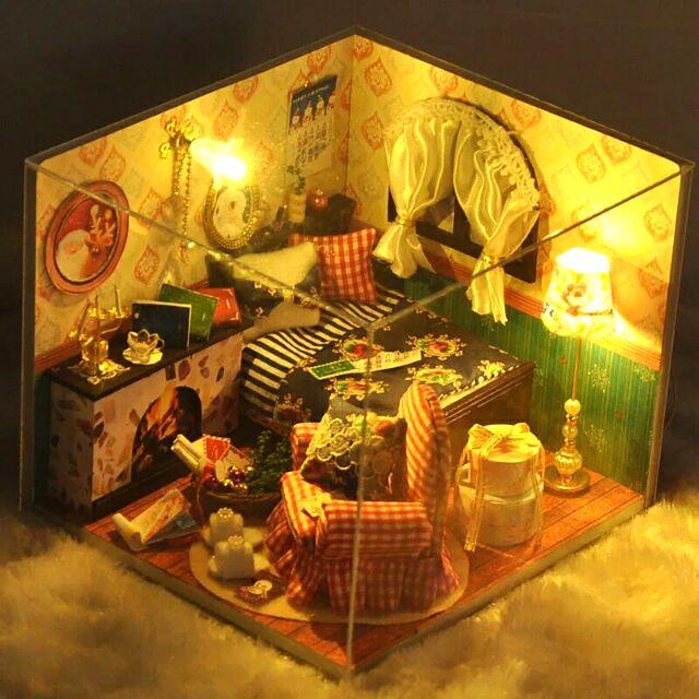 Mô hình nhà gỗ búp bê Dollhouse DIY – TW13 Winter