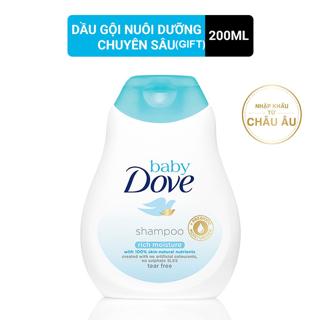 [HB Gift] Dầu gội Baby Dove nuôi dưỡng chuyên sâu 200ml