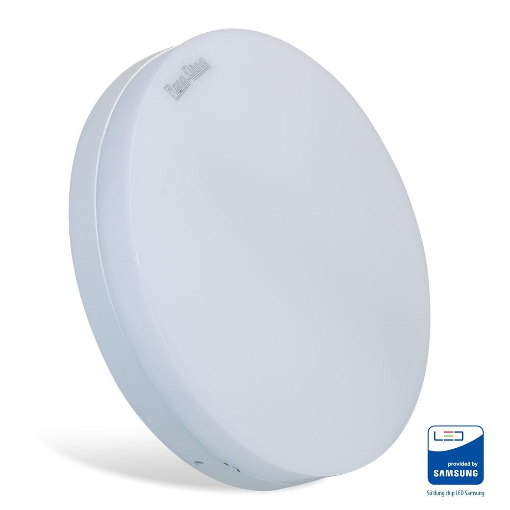 Đèn led ốp trần tròn cảm biến chuyển động – ánh sáng (radar) Rạng Đông LN12.RAD 220/18W