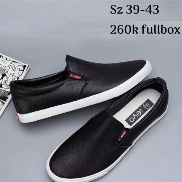 Sale ✔️GIÀY LƯỜI LEYO NAM fullbox ⚡ CHẤT sịn : ! & !