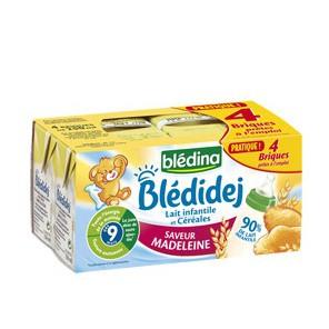 Sữa nước Bledina vị bánh mỳ cho bé 9M