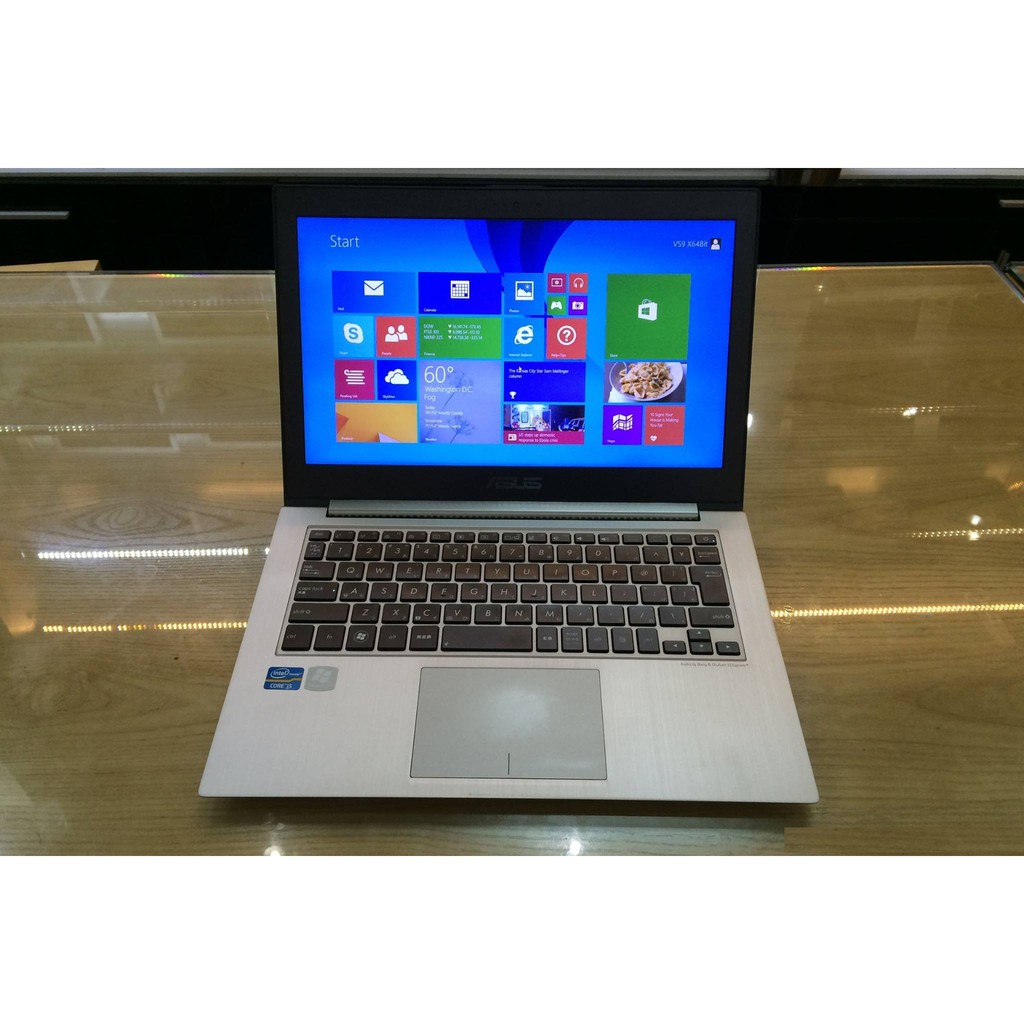 Asus ZenBook UX31A (Core i7 3517U, Ram 4GB, SSD 256GB, MH 13.3″ FullHD IPS 1080) màu xám Giá chỉ 8.700.000₫