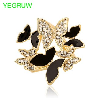 Brooch Hot Fashion Women Butterfly Scarf Buckle