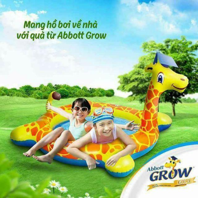 BỂ BƠI HƯƠU CAO CỔ GROW CHO BÉ