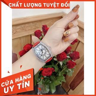 (Bảo hành 12 tháng) (Franck muller) Đồng hồ nữ Franck muller Geneve vạch số đính kim cương cao cấp -guou -MTP STORE thumbnail