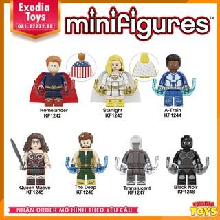 Xếp hình Minifigure The Boys : siêu anh hùng phá hoại – Đồ Chơi Lắp Ghép Sáng Tạo – KF6103