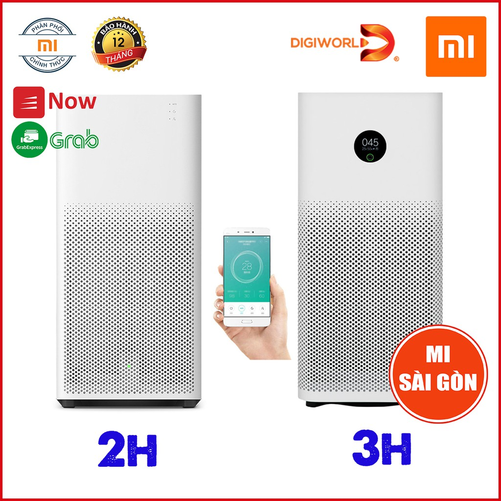 [BẢN QUỐC TẾ] Máy Lọc Không Khí Xiaomi 2H - 3H 2019 Mi Air Purifier (31W)