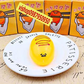 GUDETAMA SQUIShY trứng trút giận bánh ú- ảnh thật nha