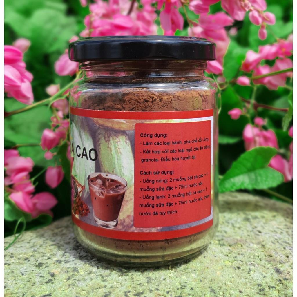 Bột cacao nguyên chất 100% Tây Nguyên