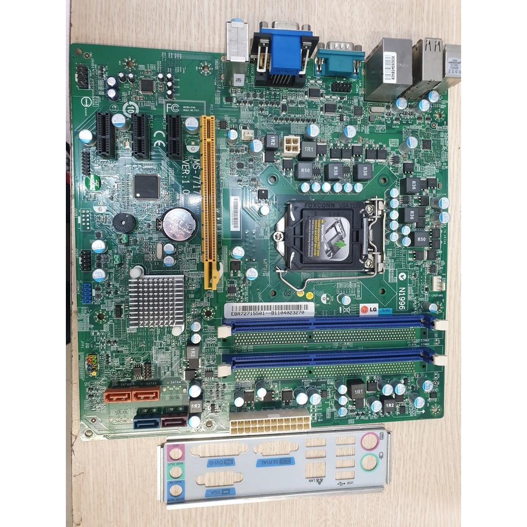 Mainboard LG H61 Ver 2 BH 12 Tháng Hàng Siêu Bền Số Lượng Có Hạn