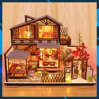 Mô hình nhà búp bê gỗ DIY Nhà búp bê lắp ghép Thung Lũng Tình Yêu P002 Toy World thumbnail