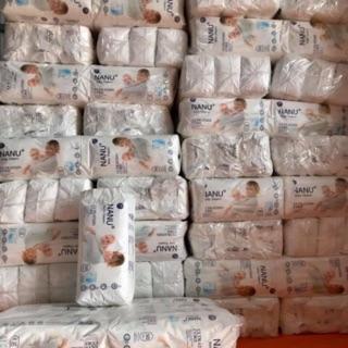 Combo 100 bỉm quần Nanu Baby M100 L100 XL100 cho bé