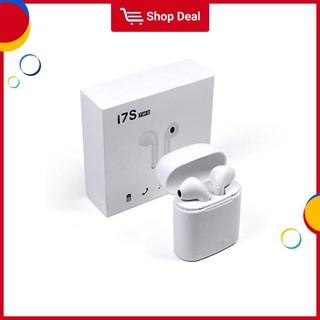 Tai nghe không dây kết nối Bluetooth I7S TWS thiết kế nhét tai mini dành cho điện thoại Android iPhone