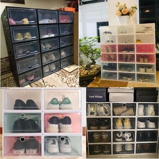Combo 10 Hộp Đựng Giày Nắp Nhựa Lắp Ráp Thông Minh Size Lớn ( TẶNG KÈM QUÀ )