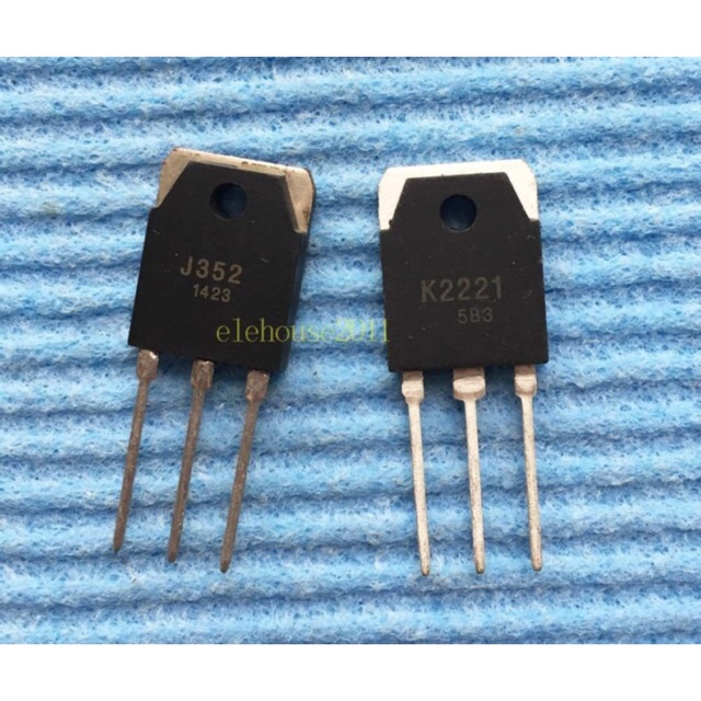 Cặp sò (Transistor) Mosfet K2221 và J532