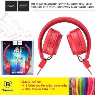 Tai Nghe Bluetooth Hoco W25 - Tai Nghe Chụp Tai Không Dây Cực Hot - Bảo hành Chính Hãng 12T