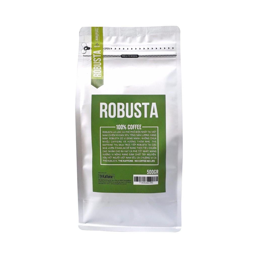 Cà phê Robusta nguyên chất 500g - The Kaffeine Coffee