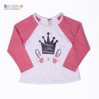 Áo thun dài tay Beddep Kids Clothes in hình cao cấp cho bé gái BP-G03 thumbnail