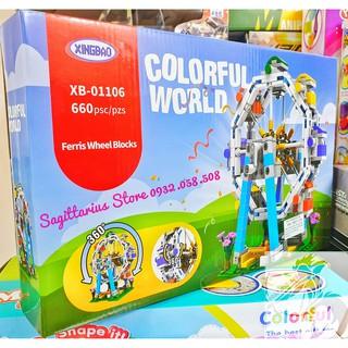 Xếp Hình LEGO Lắp ráp công viên giải trí 4 in 1 ( Có bán lẻ từng bộ )