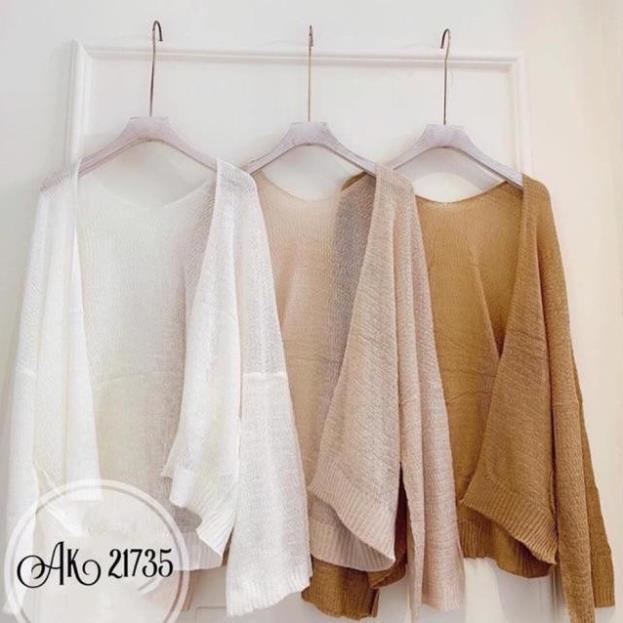 áo khoác len cardigan nữ, phong cách hàn Quốc, Mẫu siêu hot 2020