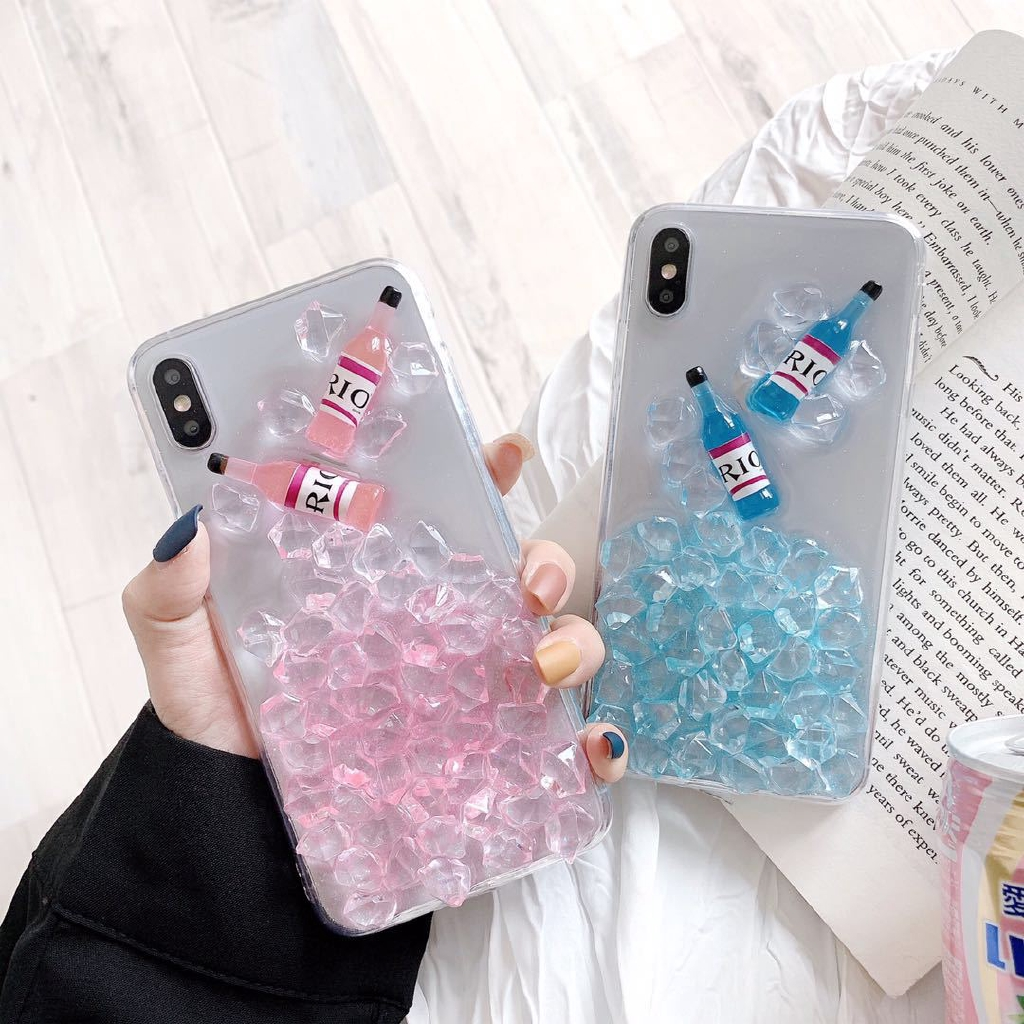 popular case for IPhoneXsMax durable 7/8plus cover Cocktail tup cheap