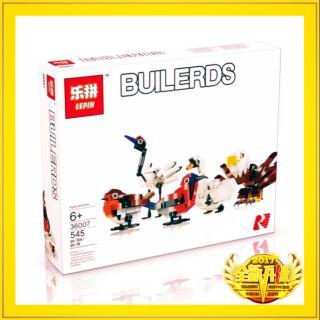 LEGO CHINA LEPIN 36007 Lắp ráp lepin 5 loài chim biểu tượng quốc gia