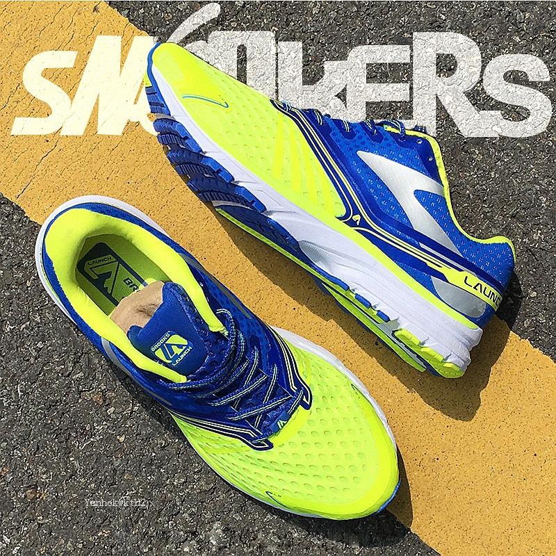 ของแท้ Brooks MEN'S LAUNCH 2 บรูคส์ รองเท้าผ้าใบ มาราธอนรองเท้าวิ่ง