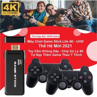 Máy Chơi Game 4K HDMI - Game Arcade - Game Retro - Game Casual - Tự Chép Game Qua Thẻ Nhớ - Có sẵn 3500 Game Hot 2021 thumbnail