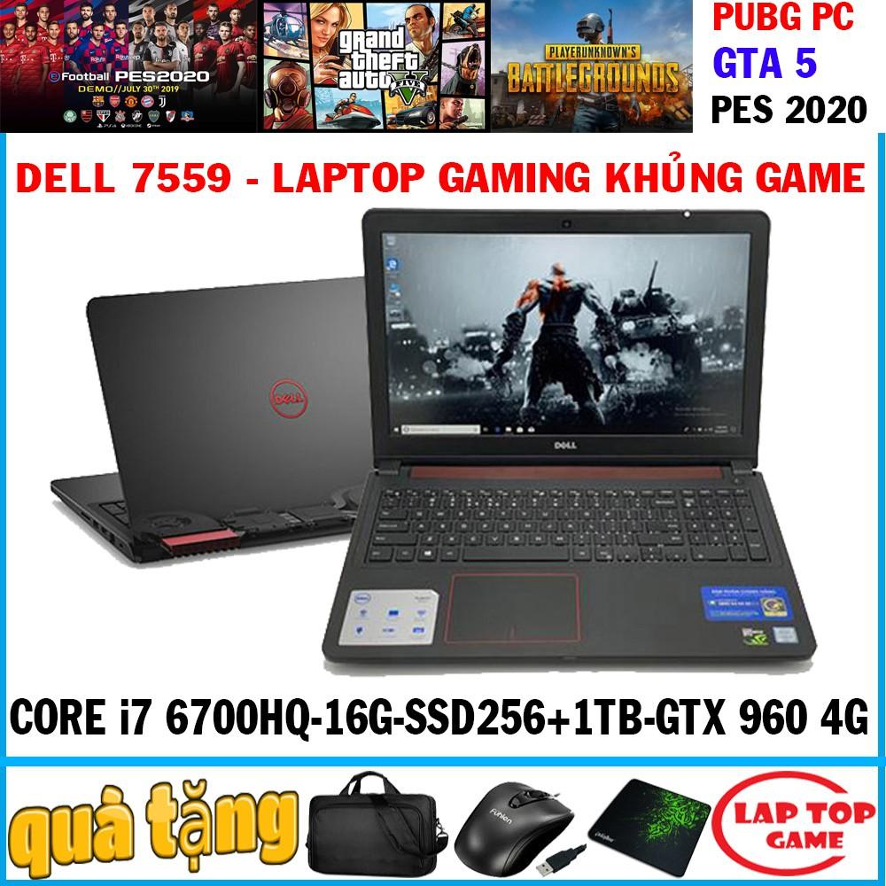 [Mã SKAMPUSHA9 giảm 8% đơn 250K] laptop gaming dell N7559 core i7 6700hq,vga gtx 960 4g, laptop cũ chơi game đồ họa