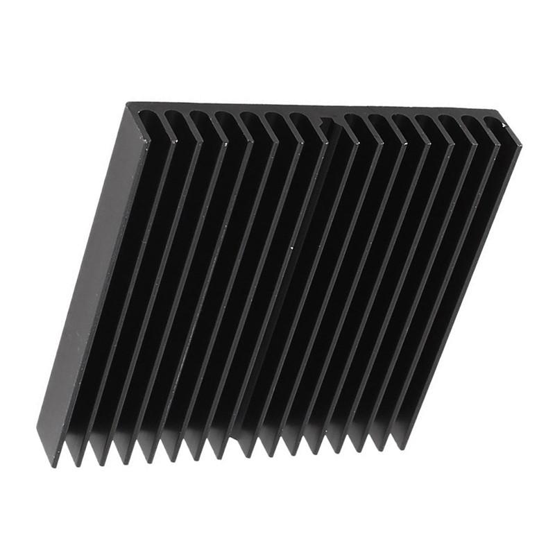Khung tản nhiệt kích thước 60mm x 60mm x 10mm chất liệu hợp kim nhôm chất lượng cao
