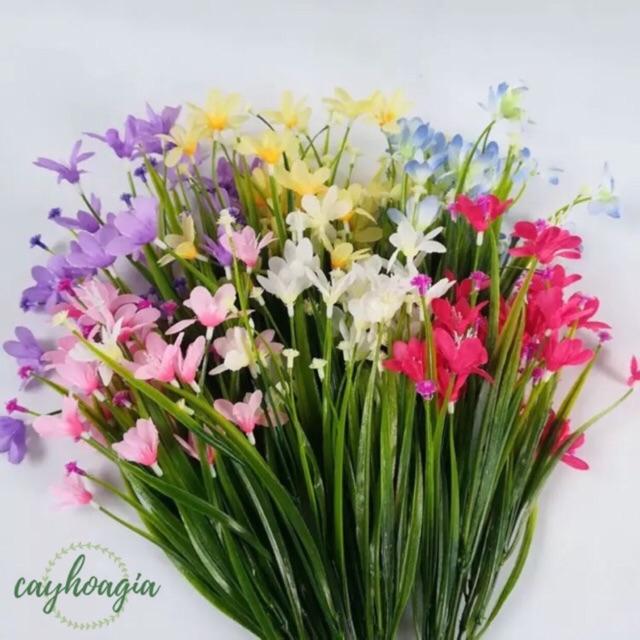 Hoa Giả Chùm Hoa Thủy Tiên Cực Đẹp
