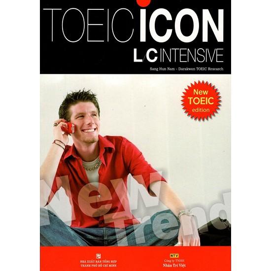 sách - TOEIC Icon - L/C Intensive (Kèm CD)