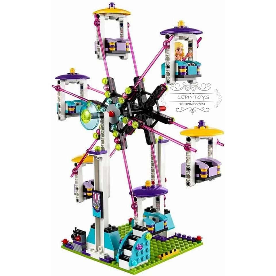 Đồ Chơi Lego Creator 10244 - Công Viên Giải Trí