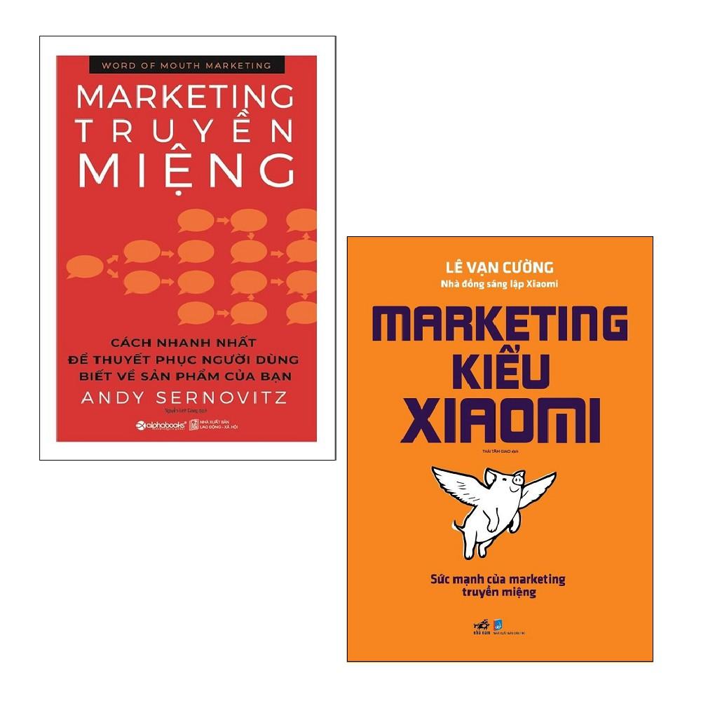 Sách - Combo: Marketing Truyền Miệng + Marketing Kiểu Xiaomi (2 cuốn)