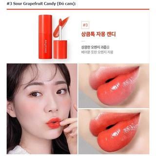 Son môi lâu trôi dưỡng ẩm [innisfree] Vivid Shine Tint 03 Grapefruit Candy 4.5g thumbnail