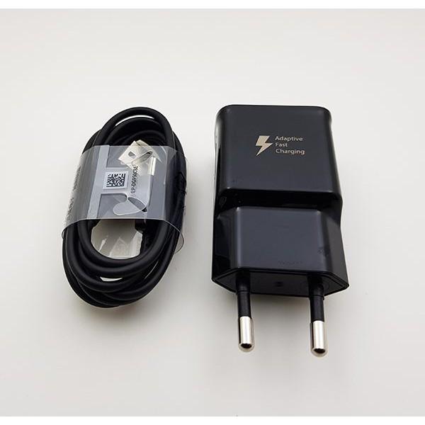 Bộ sạc cáp cho samsung s8, s9, note 8, note9 chân typeC hỗ trợ sạc nhanh, hàng chính hãng