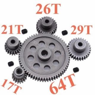 Bộ 5 Nhông HSP 1/10 17T 21T 26T 29T 64T cốt 3.175mm
