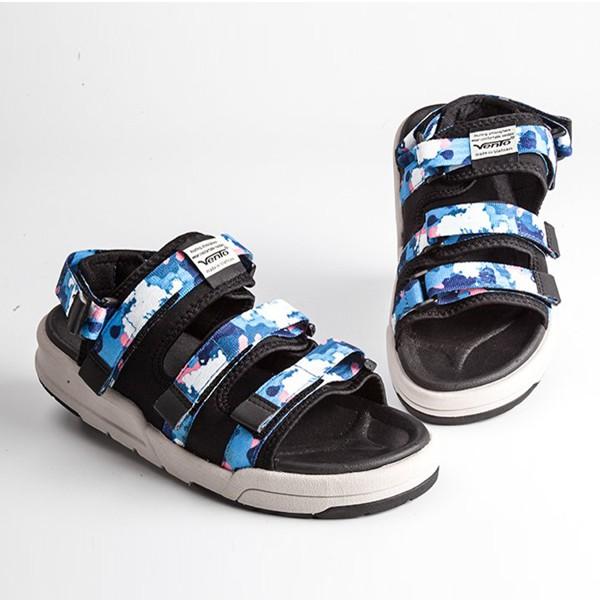 Siêu hot, Sandal Vento chính hãng xuất khẩu Nhật NV1001-1 CAMO XANH DƯƠNG