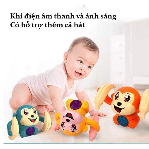 Đồ Chơi Giải Trí Cho Trẻ Sơ Sinh Và Trẻ Nhỏ - Khỉ Con Nhào Lộn Đáng Yêu