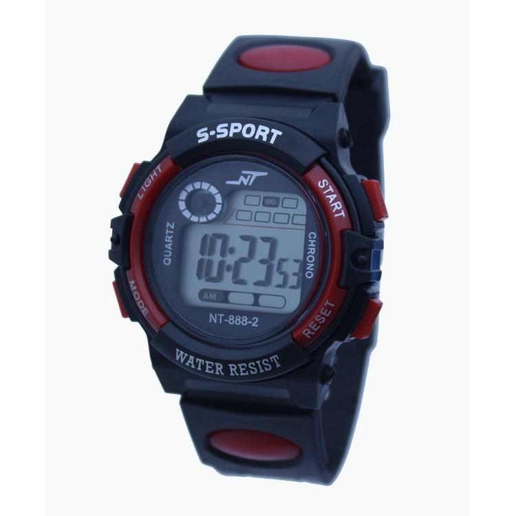 Đồng hồ thể thao trẻ em NT888 dây cao su thời trang