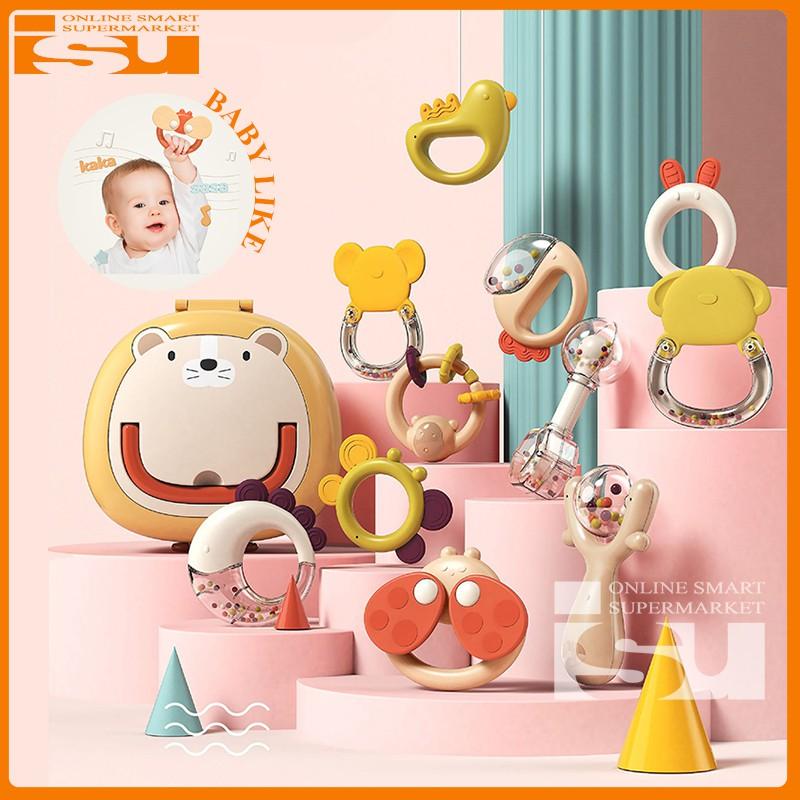 Hộp xúc xắc gặm nướu – Bộ đồ chơi trẻ em thông minh cho bé trai và bé gái loại đẹp, an toàn cho bé trên 3 tháng tuổi