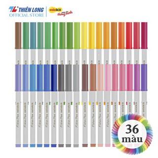 Hình ảnh Bút Lông Màu Fiber Pen Thiên Long-6
