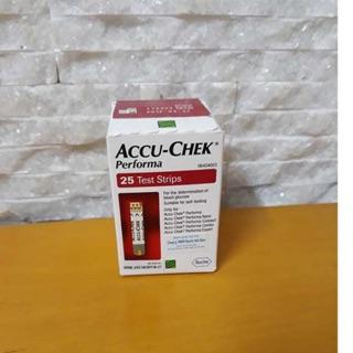 Que thử đường huyết Accu Chek performa 25-50 que.