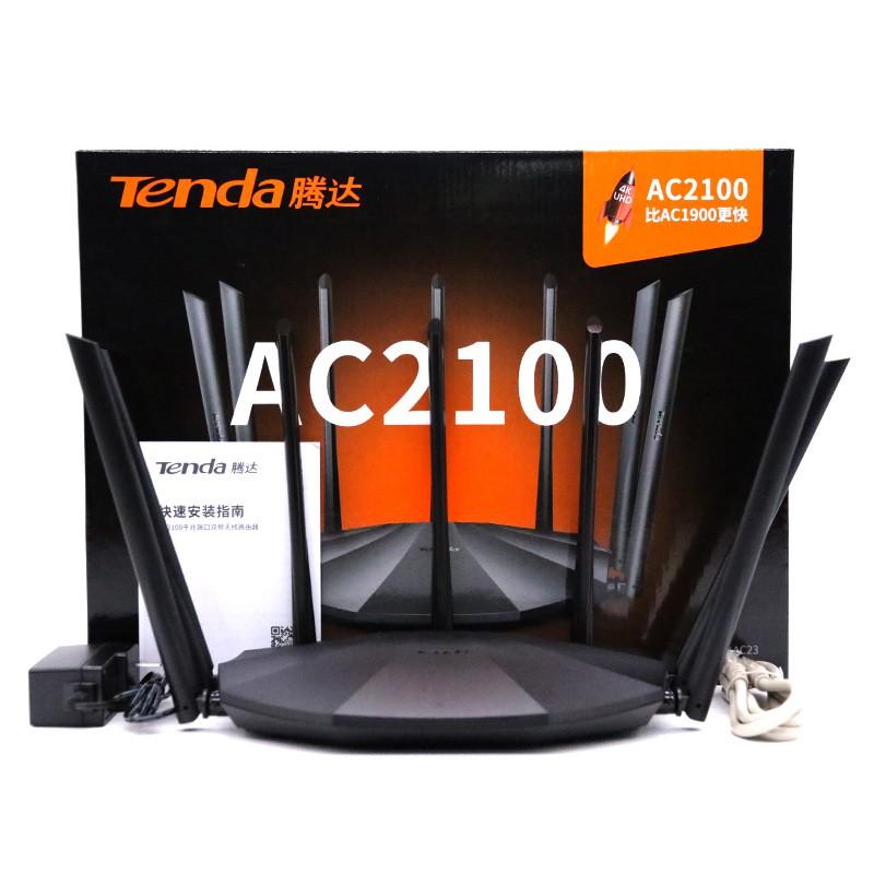 Bộ Phát Wifi Tenda AC23 Ăng Ten 6dbi Phát Wifi Chuẩn AC2100 Model 2020